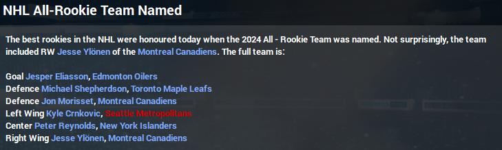 Name:  2023-24 NHL All-Rookie Team Season End.PNG Views: 225 Size:  142.7 KB