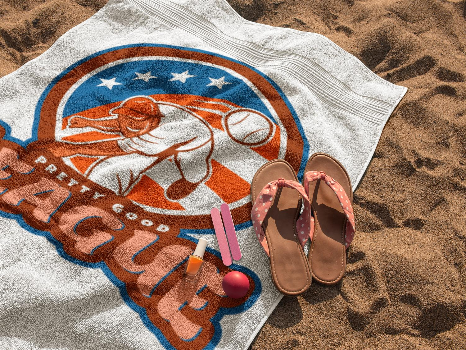 Name:  pretty good league beach towel.jpg